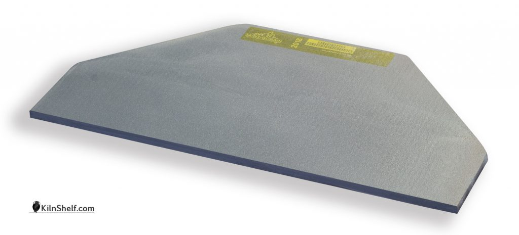 15 by 7.5 by 5/16's inch ADVANCER half kiln shelf for 8 sided electric kilns