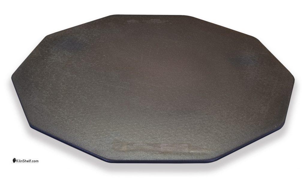 20 by 20 by 5/16's inch Advancer kiln shelf for 10 sided electric kilns.