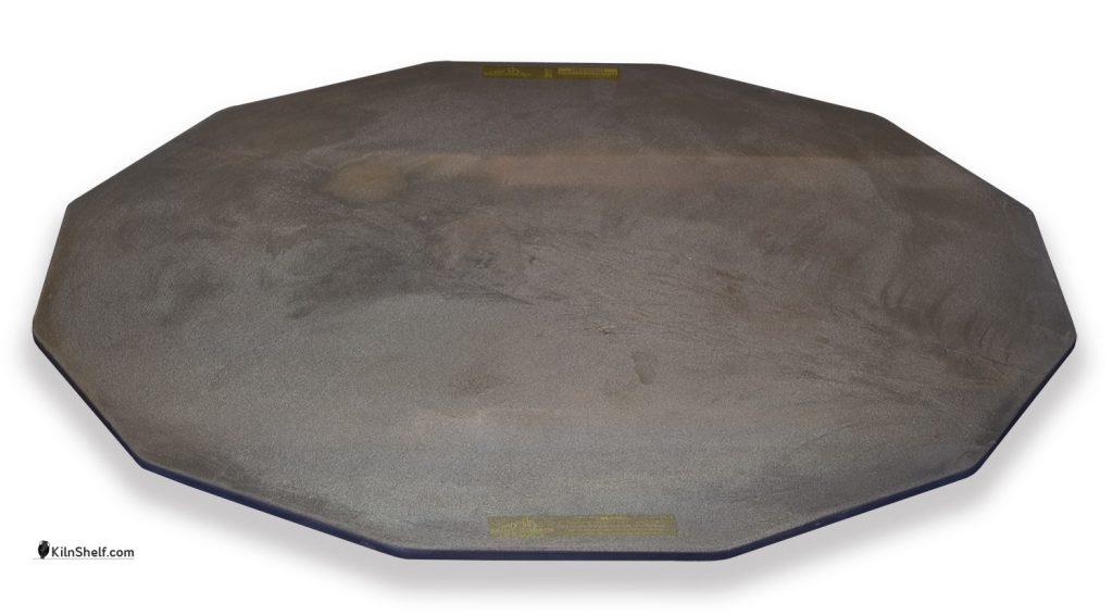 26 by 26 by 5/16's inch Advancer kiln shelf for 12 sided electric kilns.